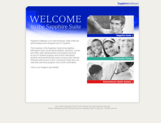 sapphire.methacton.org screenshot