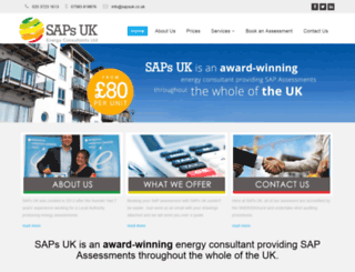 sapsuk.co.uk screenshot