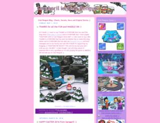 saraaprilinclubpenguin.com screenshot