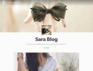 sarablog22.tumblr.com screenshot