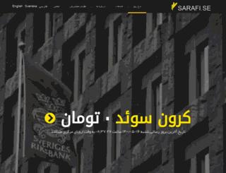 sarafi.se screenshot
