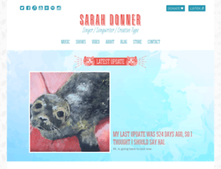 sarahdonner.com screenshot