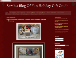 sarahsblogoffungiftguides.blogspot.com screenshot