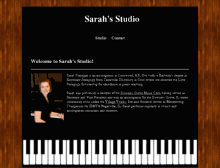 sarahsstudio.com screenshot