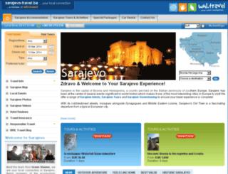 sarajevo-travel.ba screenshot