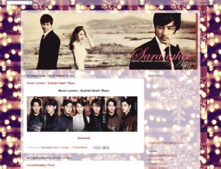 sarangheeasia.blogspot.com.br screenshot