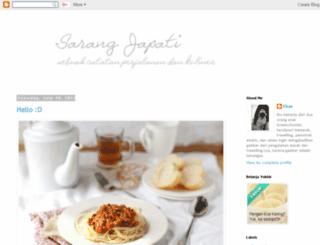 sarangjapati.blogspot.com screenshot