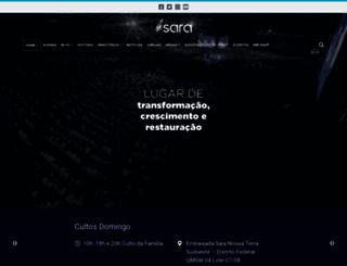 saranossaterra.com.br screenshot