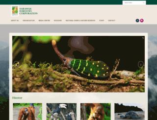 sarawakforestry.com screenshot