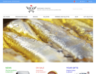 sardinespirates.com screenshot