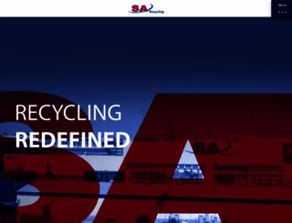 sarecycling.com screenshot