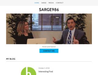 sarge986.com screenshot