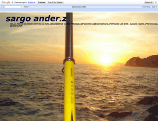 sargoanderz.blogspot.com.es screenshot