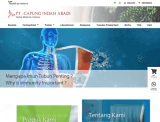 sari-sehat.com screenshot