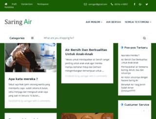 saringair.com screenshot