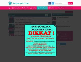 sariyerport.com screenshot