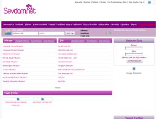 sarki-sozleri.sevdam.net screenshot