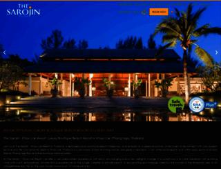 sarojin.com screenshot