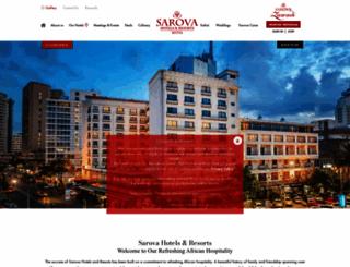 sarovahotels.com screenshot
