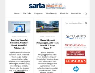 sarta.org screenshot