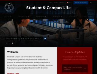 sas.cornell.edu screenshot
