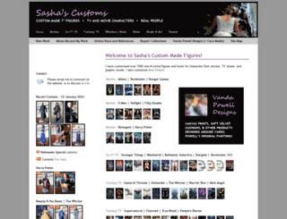 sashacustoms.co.uk screenshot