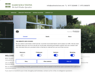 sashsolutions.net screenshot