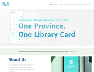 sasklibraries.ca screenshot