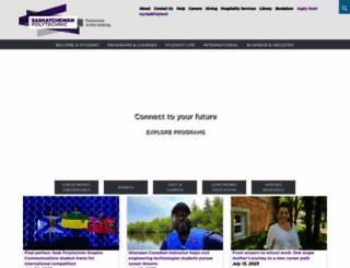 saskpolytech.ca screenshot
