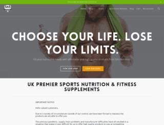 sasnutrition.com screenshot