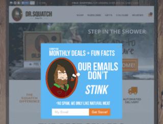 sasquatchsoap.com screenshot