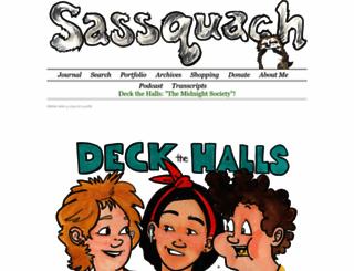 sassquach.com screenshot