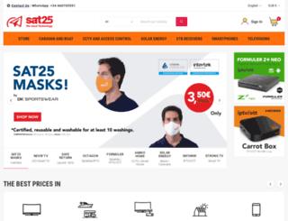 sat25.com screenshot