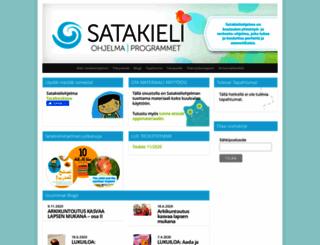 satakieliohjelma.fi screenshot