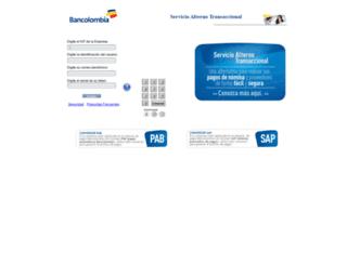 satbancolombia.com screenshot