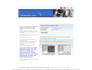 satellite-gps-locator.com screenshot