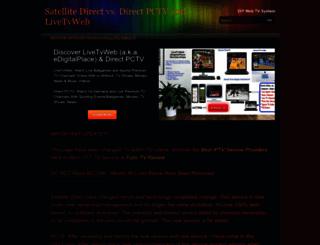 satellitedirecttvsoftware.weebly.com screenshot