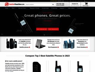 satellitephonestore.com screenshot