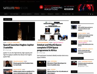 satelliteprome.com screenshot