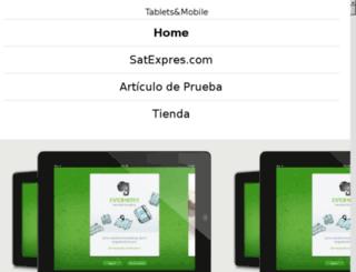satexpres.com screenshot