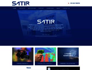 satir-uk.com screenshot
