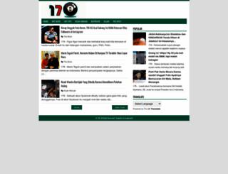 satoetoedjoehdelapan.blogspot.com screenshot