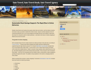 satotraveldeals.blogspot.com screenshot