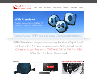 satplus-installations.co.uk screenshot