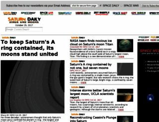 saturndaily.com screenshot