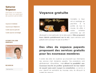 saturne-voyance.com screenshot