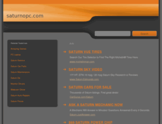 saturnopc.com screenshot