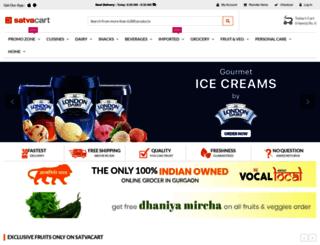 satvacart.com screenshot