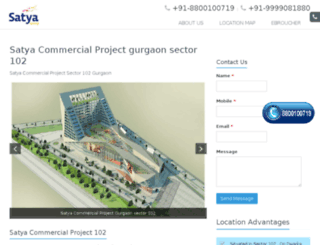 satyacommercial102.in screenshot
