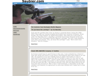 saubier.com screenshot